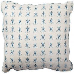 Julia Double Blue Pillow