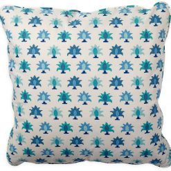 Rohet Flora Blue Pillow