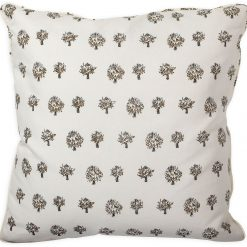 Dried Artichoke Taupe Pillow