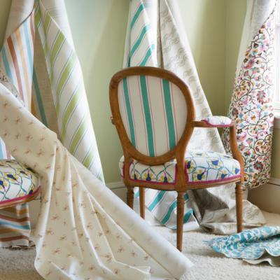 Elegant Fabrics/Wallpaper