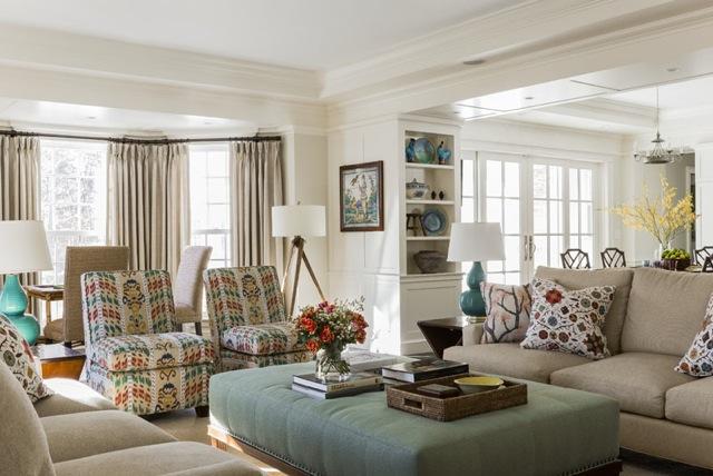 fabrics wallpaper in action mally skok design interior