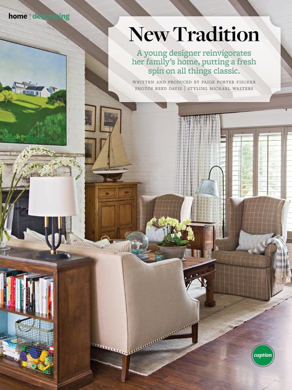 Amy meier designs better homes gardens magazine - Better homes and gardens interior designer ...